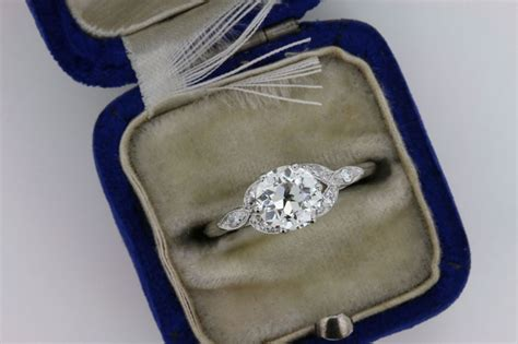 A History Of Engagement Ring Styles