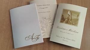Stampa Libretto Messa Matrimonio