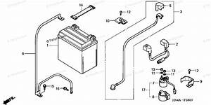 Honda Atv 2002 Oem Parts Diagram For Battery