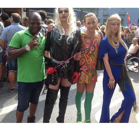 Charly Boy Supports The Lgbt Community At Stockholm Gay