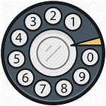 Telephone Dialer Icon Dial Phone Rotary Pad