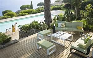 Mobilier De Jardin Design De Luxe. emejing salon de jardin design ...