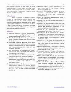 Unilateral Proptosis In Hyperthyroidism