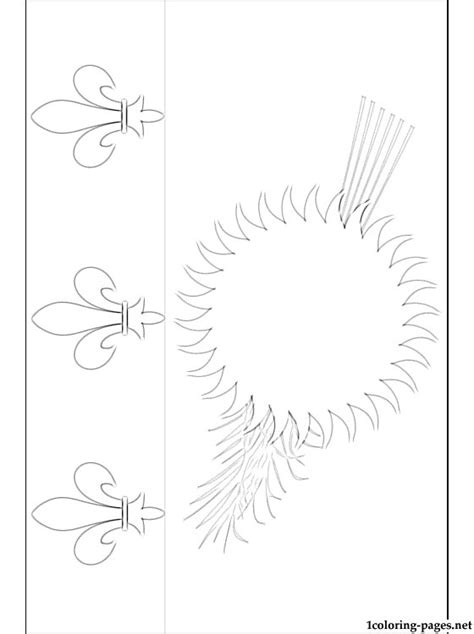 guadeloupe flag coloring page coloring pages