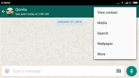 Cara Mengganti Wallpaper Atau Background Chat Whatsapp