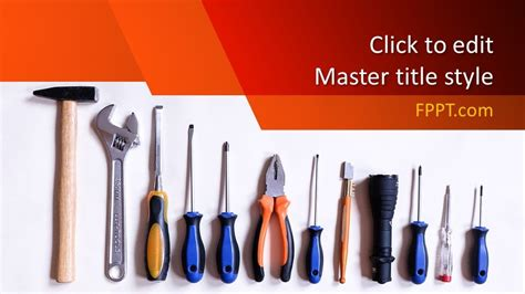 Tools Powerpoint Template  Powerpoint Templates