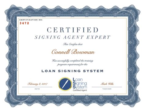 Notary Signing Agent Training Course