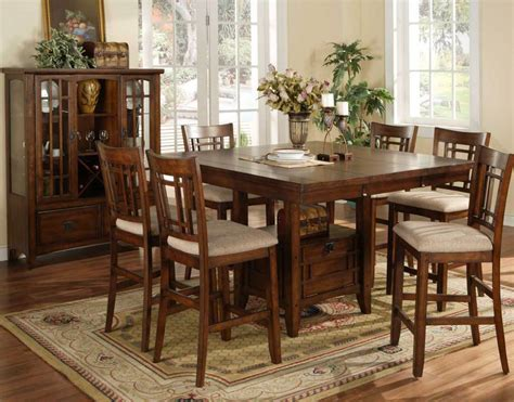 Furniture: Counter Height Table Sets For Elegant Dining
