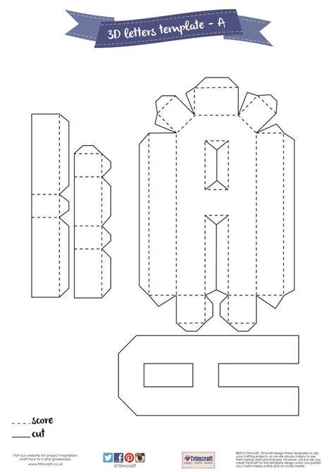 3d template 3d letter template fee schedule template