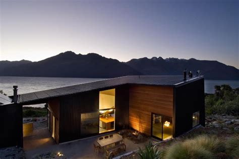 industrial style house   zealand modern elegance