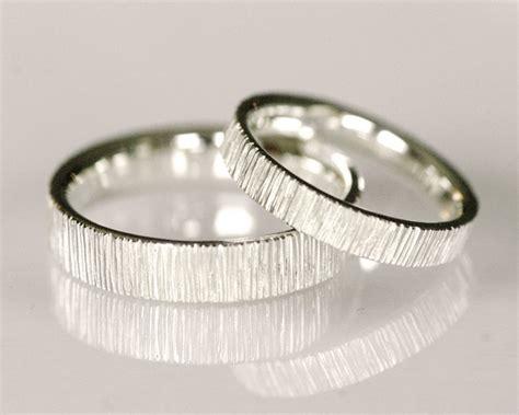 modern wedding band line pattern wedding band 14k white