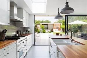 Küche Planen Tipps : zweizeilige k che platzsparende ideen f r ihr zuhause ~ Buech-reservation.com Haus und Dekorationen
