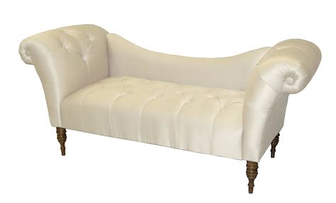 chaise lounge tufted roslyn arm tufted chaise lounge by skyline