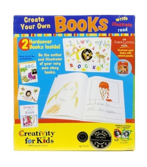 Creativity For Kids Kitcreate Your Own Books At Joanncom