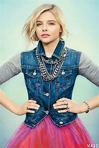 Chloe Grace Moretz Looks Like Carrie In TeenVogue - StyleFrizz