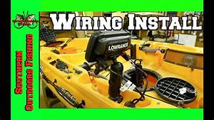 Lowrance Elite 5 Ti Wiring Install On A Hobie Outback