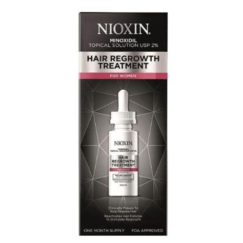 nioxin hair regrowth treatment  women