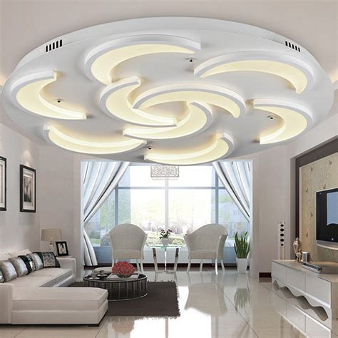 lighting apartment no ceiling lights details about bright 36w led ceiling down light flush
