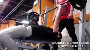 Upper Body Power  Hypertrophy Workout