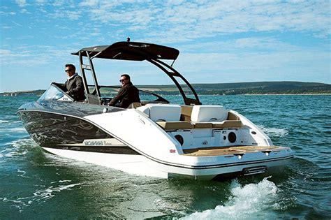Scarab Boats 255 Review by Scarab 255 Ho Impulse Powerboat Rib Magazine