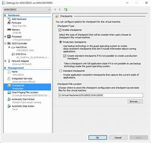 using checkpoints microsoft docs With hyper v documents