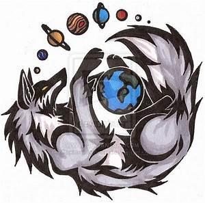 05372e6eae81c Solar System Wolf- Tattoo by CaptainMorwen on deviantART .