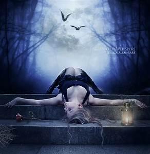 Fantasy Digital Art by Jessica Allain | Full moon, Fantasy ...