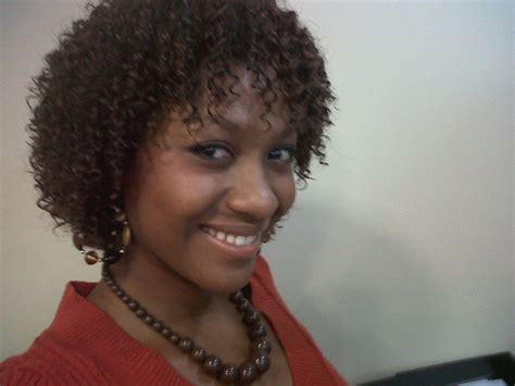 Short Jheri Curl Hairstyles