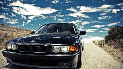 bmw black car wallpaper bmw black cars bmw e38 wallpaper 1920x1080 253971