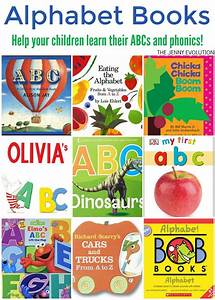 abc alphabet books for kids the jenny evolution With letter books for toddlers
