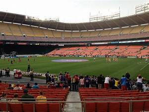 Rfk Stadium Seating Chart Rfk Stadium Section 202 Soccer Seating Rateyourseats Com