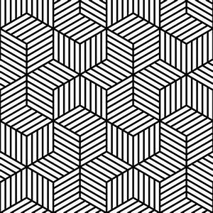 black and white pattern design optical art lined With design art black and white