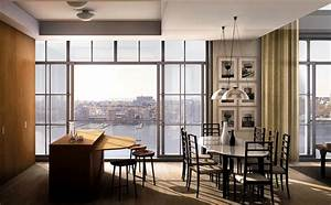 Modern kitchen interior design of 200 eleventh avenue for Interior decorating classes nyc