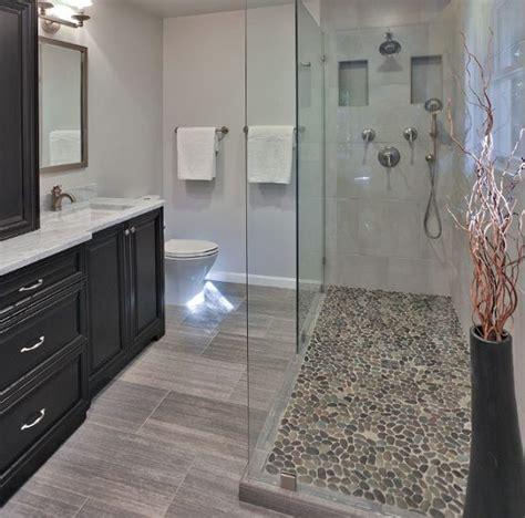 17 best ideas about pebble shower floor on
