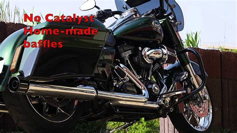 Harley Davidson Road King Modification by 2014 Harley Davidson Cvo Road King Exhaust Modification