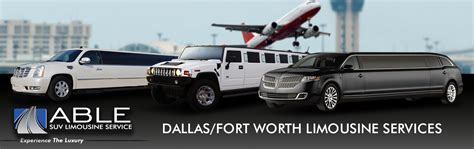 Airport Limo Rental by Dallas Airport Limo Service Airport Limousine Rentals By