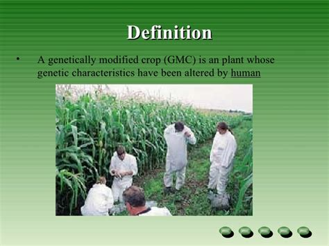 Modified Resection Definition by Genetic Modified Crops