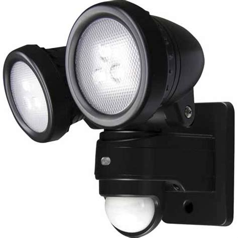 outdoor led flood philips led security light security lights mitre 10