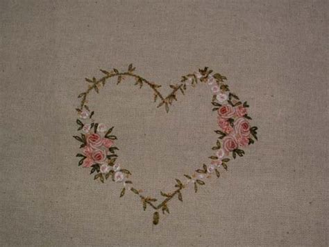 Free Hand Embroidery Patterns Heart