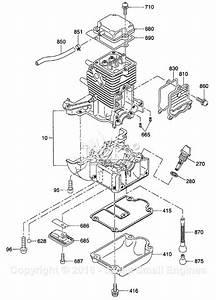Robin  Subaru Eh025 Parts Diagram For Crankcase Parts