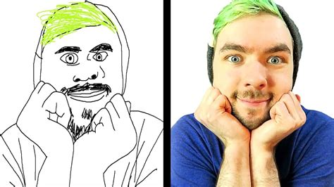 drawing youtubers youtube