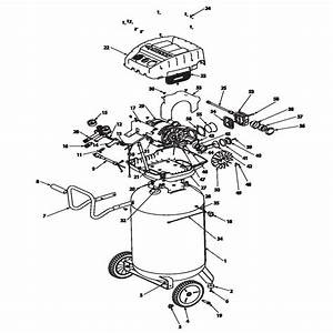 Husky Airpressor 516 051 Wiring Diagram