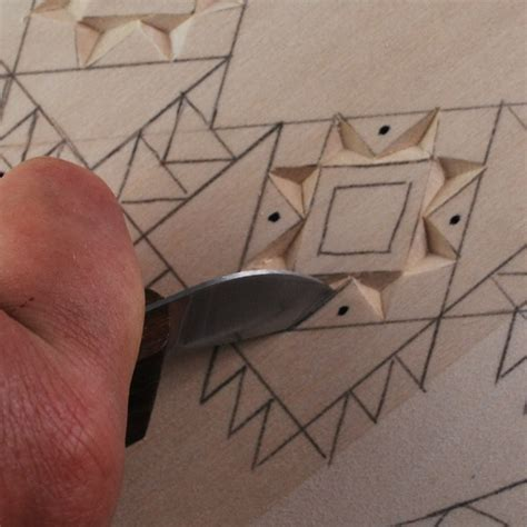 basic techniques  wood chip carving    irish