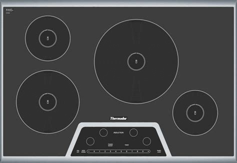 thermador induction cooktop thermador cit304gb 30 quot induction cooktop stainless steel