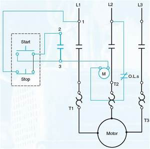 Draw An Elementary Line Diagram Of The Control Circuit