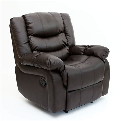 reclining lounge chair seattle leather recliner armchair sofa home lounge chair