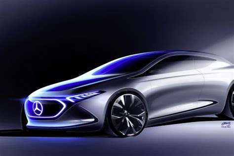Mercedes BenzCar : Mercedes-benz Concept Eqa Is The Company's Next Showcase