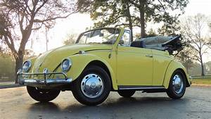 1967 Volkswagen Beetle Convertible Presented As Lot T168