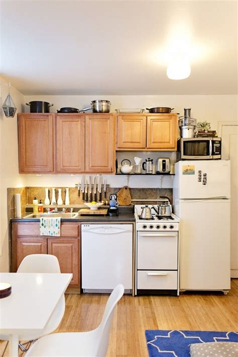 storage ideas for small apartment kitchens the 10 commandments of keeping a small space organized