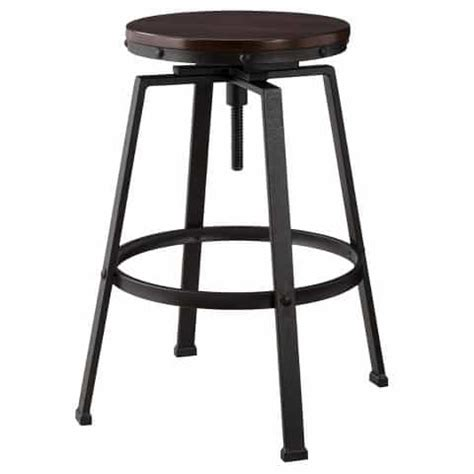 Farmhouse Bar Stools Under $100  My Creative Days. Hexagon Side Table. Farmhouse Interior Design. Makeup Station. Mantle Decorations. Geometric Area Rugs. Stikwood Reviews. Merillat Cabinets Reviews. Counter Height Table Ikea